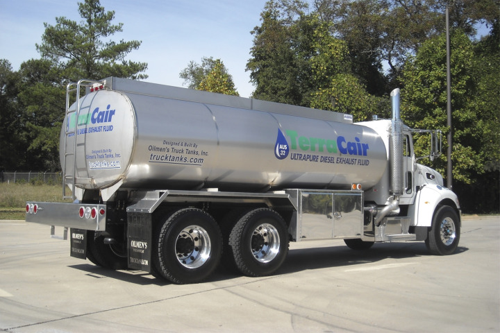 Oilmen's Truck Tanks Completes Nation's First Tank Truck for DEF Delivery