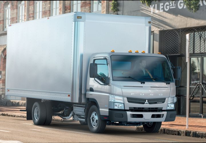 Mitsubishi Fuso Plans Strong Sales with New Class 3 Truck