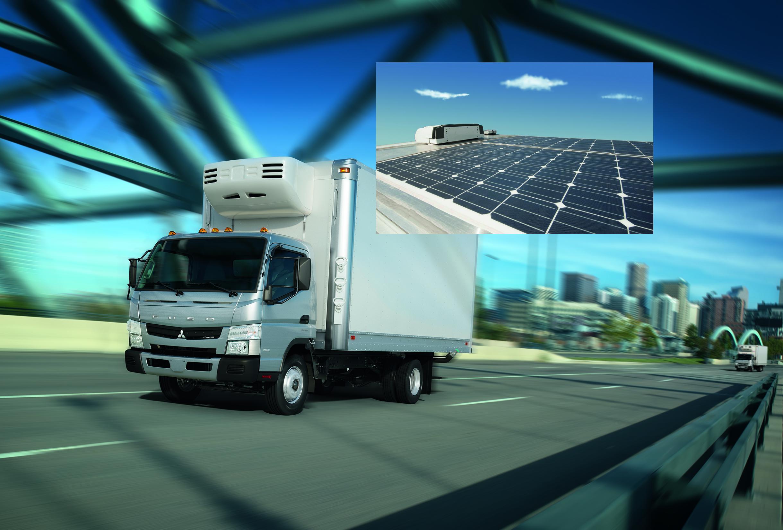 Mitsubishi Fuso Truck of America to Offer Solar-Power Option for its Medium-Duty Trucks
