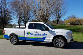 Alliance Auto Gas Lowers V-6, V-8 Engine Emissions