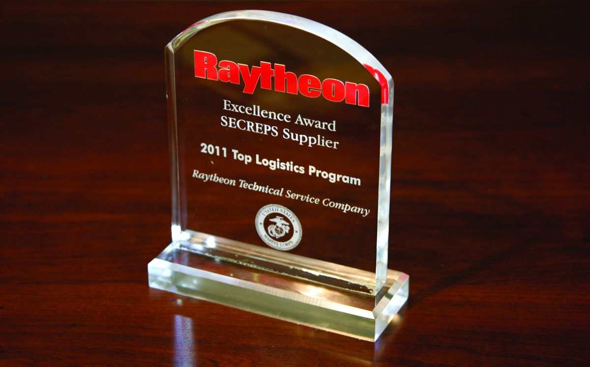 JASPER Earns 2011 Raytheon Excellence Award