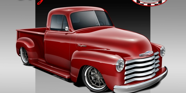 After making a North American tour, the Raybestos 1953 Chevy pickup will head to Las Vegas where...