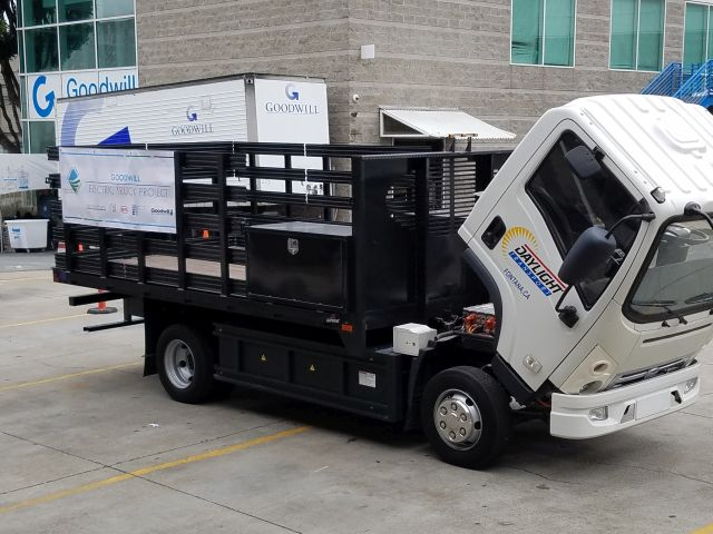 BYD Trucks Partners with Goodwill