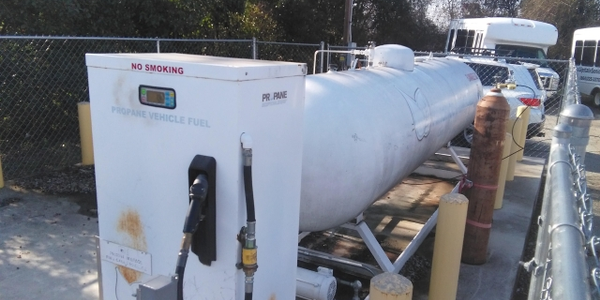 It purchased the very first dispenser that Superior Energy Systems manufactured in 2007, which...