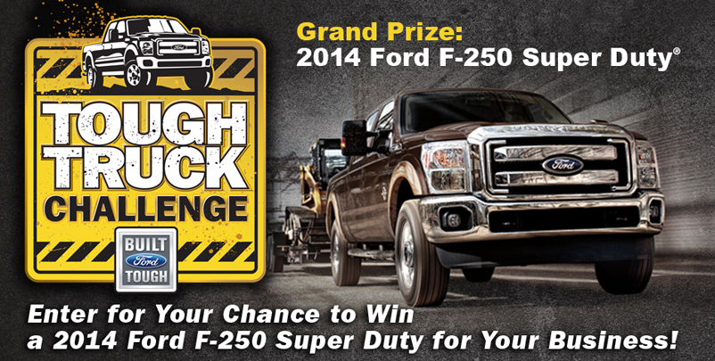 Enter for Your Chance to Win a New Ford Truck for Your Business