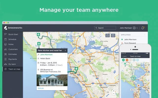 Management App Launches Team View Feature