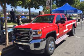 PG&E Donates Plug-In Truck to Napa