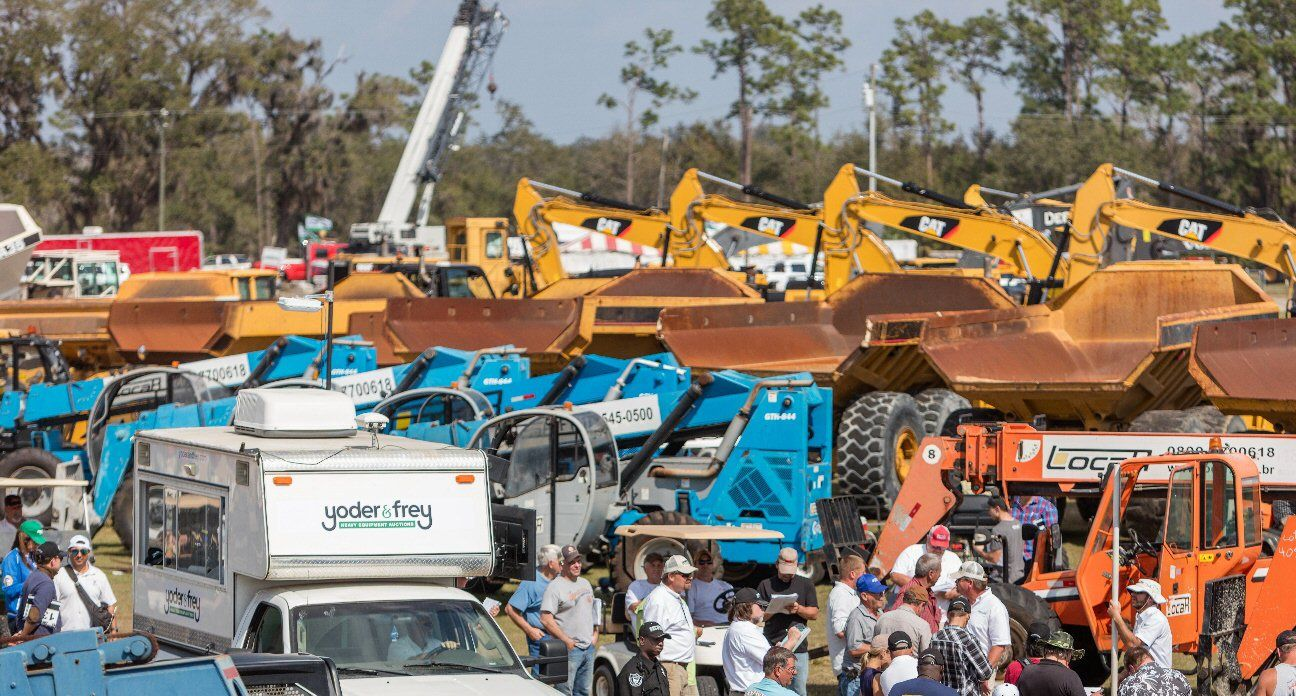 Yoder & Frey Adds Construction Equipment Auction Dates