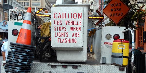 Photo of a bucket truck via Flickr/Steve Snodgrass