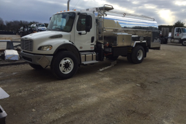 First Odyne Hybrid System Fuel Tank Truck Delivered