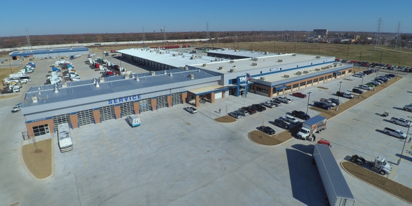 TAG's new 190,000 square foot Freightliner dealership in Memphis, TN is comprised of a new and...