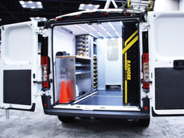 Ranger Design showed off its updated flooring with integrated mounting tracks and new line of...