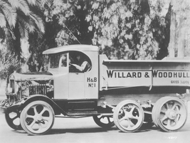 Willard & Woodhull used this truck in the early 1920s, featuring a stated 34,000-pound gross...
