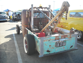 Probably one of the favorite trucks I saw, this was an old 1945 model tow truck. Check out the...