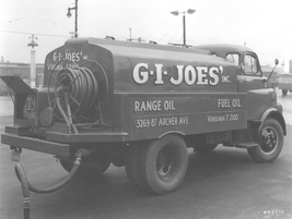 In 1948, oil and fuel was also delivered by G.I. Joe's in Virginia. 