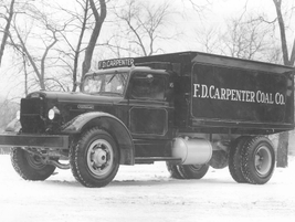 In the 1950s, F.D. Carpenter Coal Co. relied o this upfit Autocar to deliver its coal...