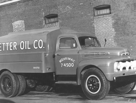 Better Oil Co. also needed a dually truck to haul its oil in 1951. 