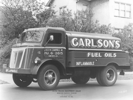 In 1952, Carlson's Fyel Oils relied on upfit trucks to haul and deliver product. 