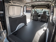 Inside, the 2019 Ford Transit Connect offers redesigned front seats for added comfort and a wide...