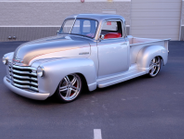 You'd be hard-pressed to find a single part on this 1950 Chevrolet 3100 Custom Pickup that has...