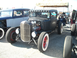 One of the trucks on display at the 2011 Mooneye's Xmas Party.