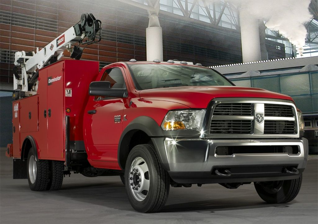 Ram was named the 2011 Medium-Duty Truck of the Year for the Chassis Cab. (Photo courtesy of Ram...