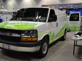 General Motors CNG Chevrolet Express Van