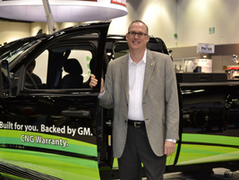 Ed Peper, general manager for General Motors Fleet & Commercial Operations at the Work Truck...