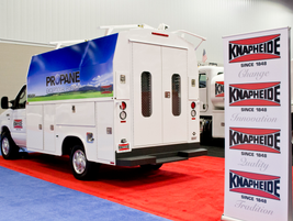 ROUSH, propane-autogas-powered truck by Knapheide.