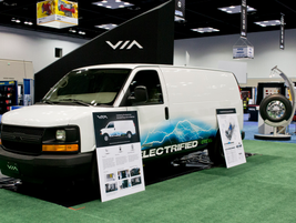 Van from VIA Motors