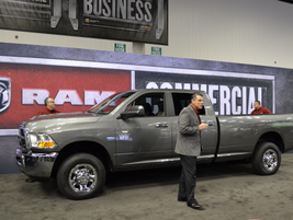 Ram Commercial Trucks unveiled the CNG pickup.