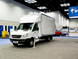 Mercedes-Benz Sprinter Box Truck.