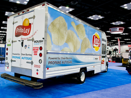 Frito-Lay propane-autogas-powered truck.