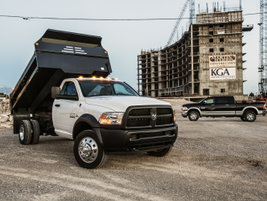 Ram recieved it's second honor in 2015 for the Ram Chassis Cab. (Photo courtesy of Ram Trucks)