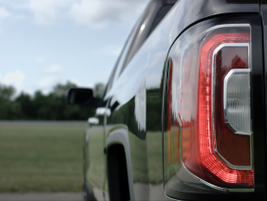2016 GMC Sierra new rear taillights.