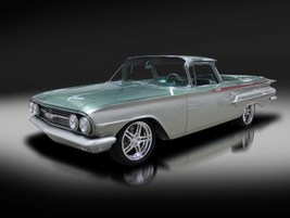 This one-of-a-kind 1960 Chevrolet El Camino Custom Pickup sold for $126,500 in Palm Beach,...