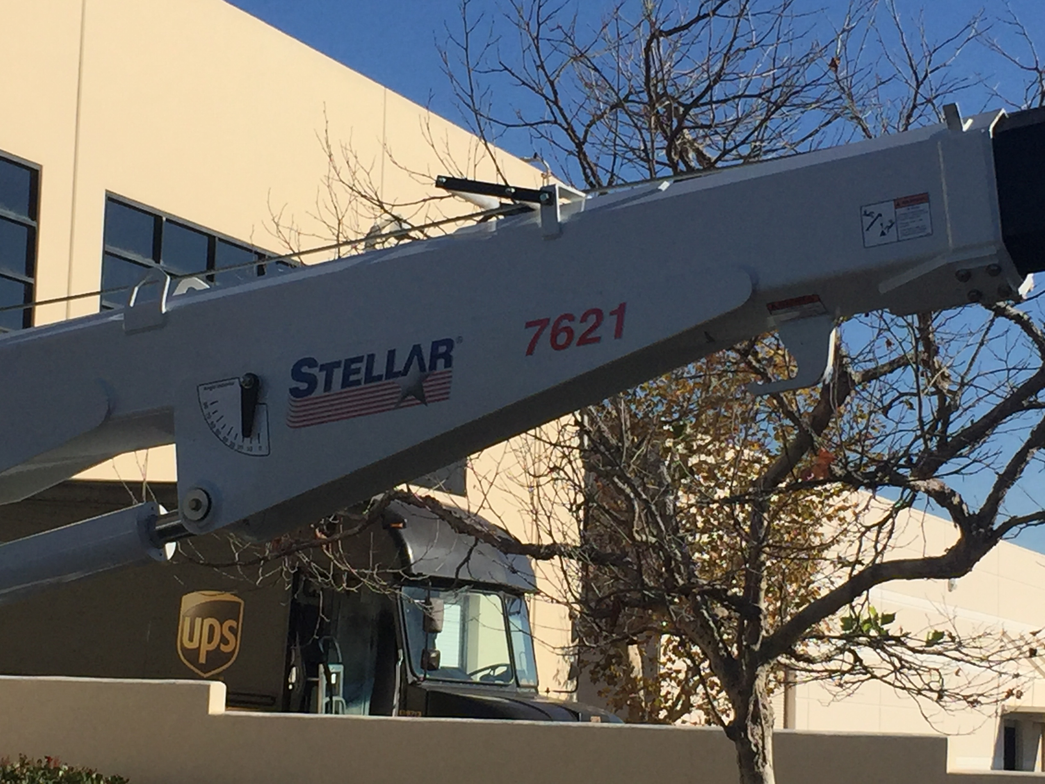 The Stellar 7621's name signifies its 7,500-pound maximum capacity (7621), 6-ft. reach (7621),...