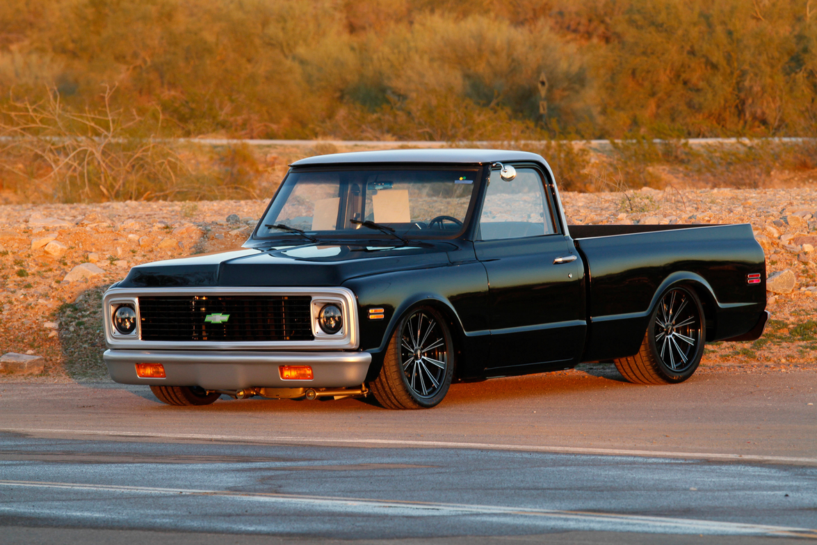 "This 1971 Chevrolet C-10 Custom Pickup, lovingly called ""Adel"" by its previous owners, sold for..."