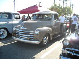A Chevrolet truck.
