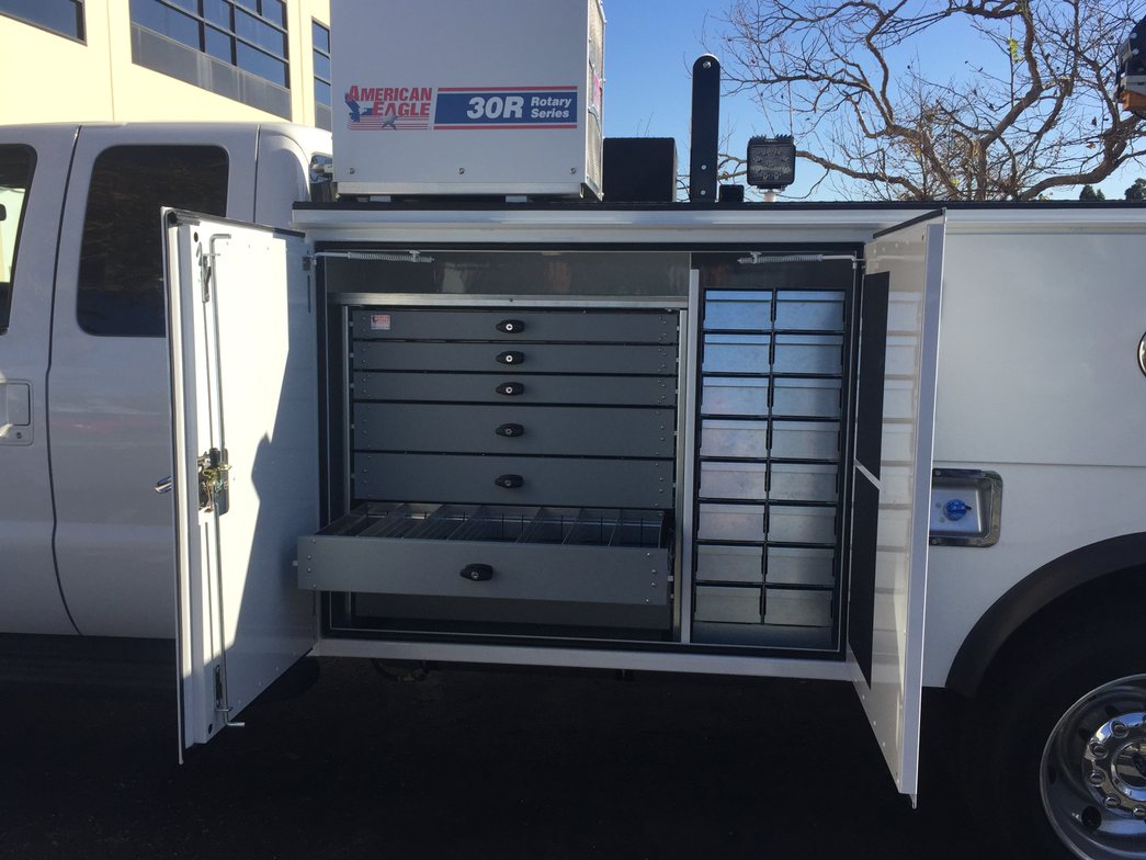 Drawer systems from American Eagle Accessories Group come in a variety of configurations to meet...