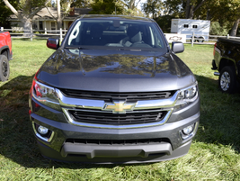 The 2016 Chevrolet Colorado diesel has a payload rating of between 1,474 to 1,547 pounds...