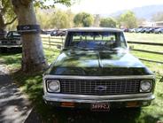 A 1971 Chevrolet Cheyenne Pickup.