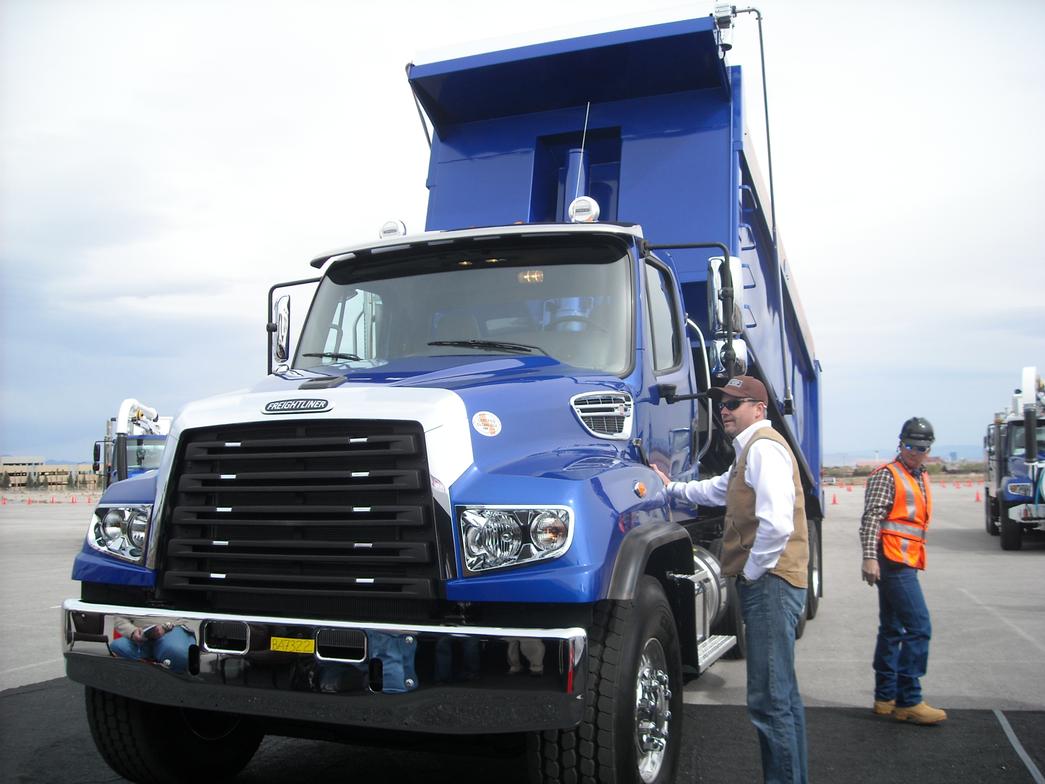 Freightliner Ride & Drive Event, Las Vegas
