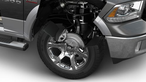 The truck's air suspension system also helps with fuel economy by improving ride control and...