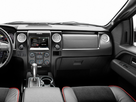 Tremor is the only regular-cab F-150 offering a flow-through center console and bucket seats....