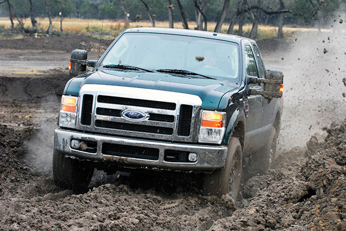 The Ford Super Duty was named the first-ever Medium-Duty Truck of the Year in 2008. (Photo...