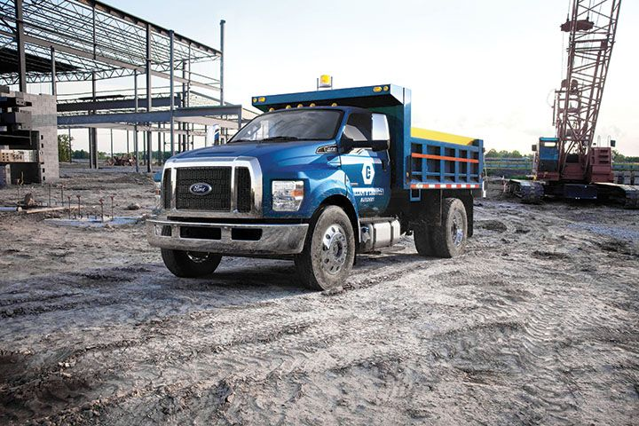 Ford recieved it's fourth honor in 2016 with a win for the Ford F-650/F-750. (Photo courtesy of...