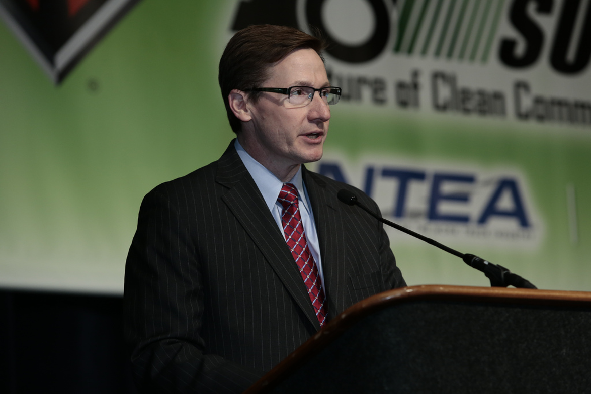 Joe Dalum, president and CEO, Odyne Systems LLC, spoke at the 2014 Green Truck Summit on...