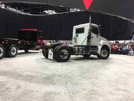 The Hino XL Series will be offered in a host of straight truck and tractor configurations...