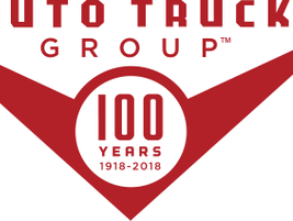 Auto Truck Group's 100 Year Anniversary Logo. 
